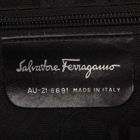 Salvatore Ferragamo Leather Vara Shoulder Bag