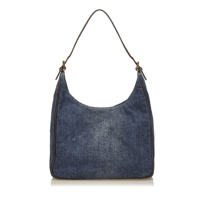 Fendi Denim Schouder tas