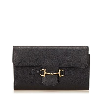 Gucci Leren Horse Bit Wallet