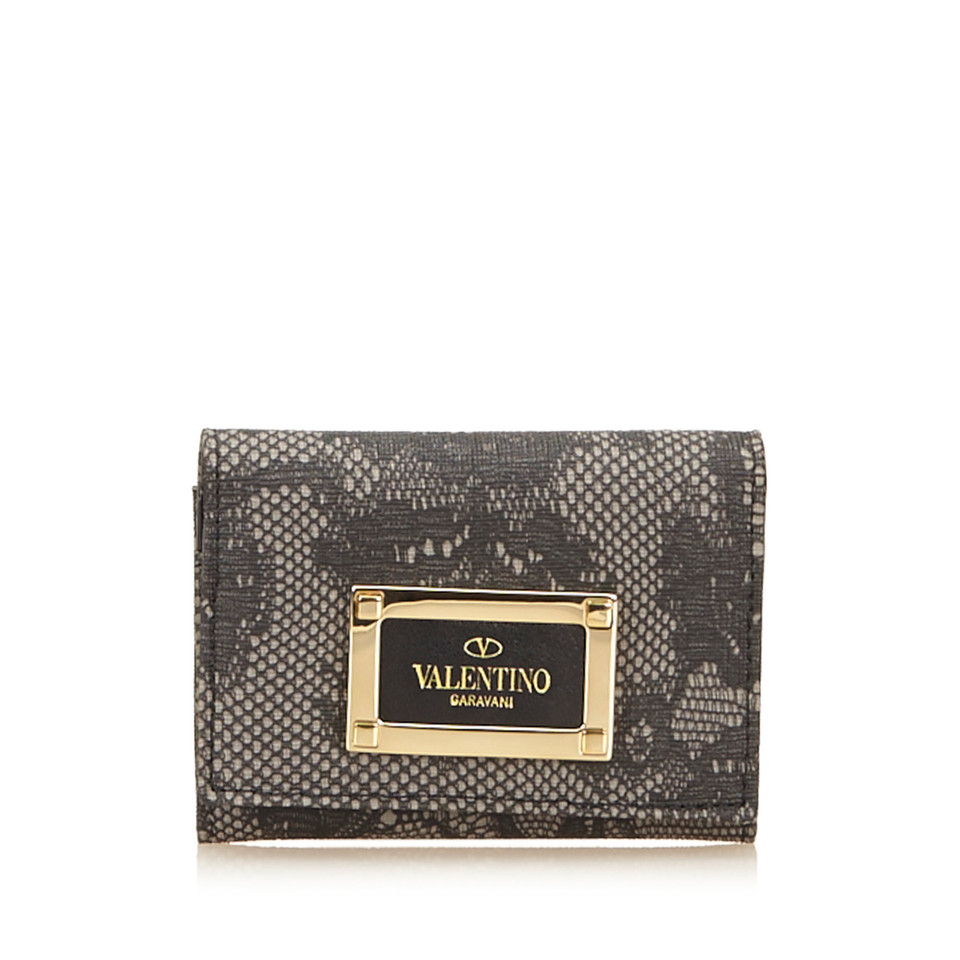 Valentino Lace PVC Card Holder