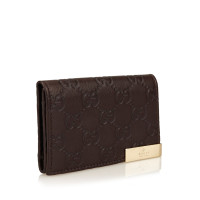 Gucci Embossed Leather GG Wallet