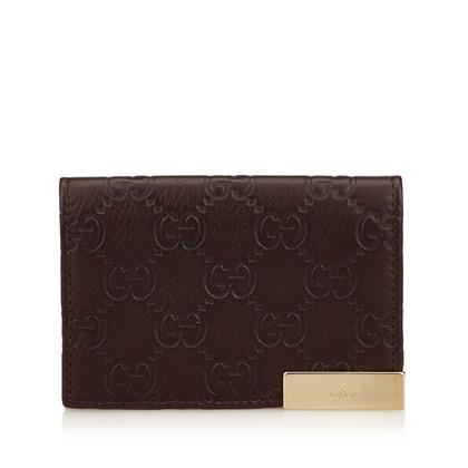 Gucci Geprägte Leder GG Wallet