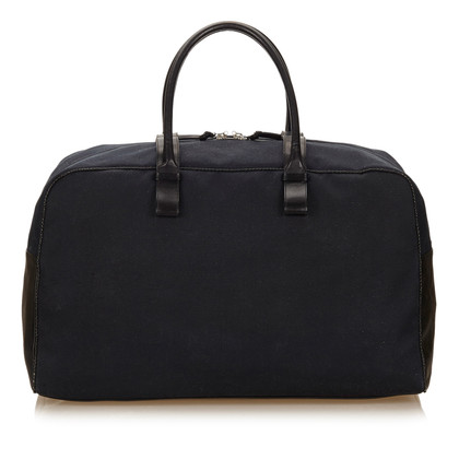 Bottega Veneta Canvas Duffel Tasche