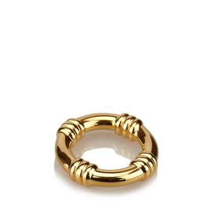 Hermès Anello della sciarpa in oro