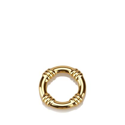Hermès Gold-Tone Scarf Ring