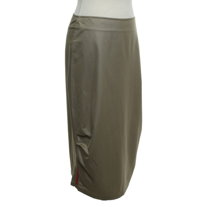 Prada skirt in khaki
