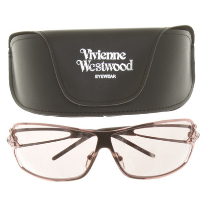 Vivienne Westwood Metallic Sunglasses in Pink