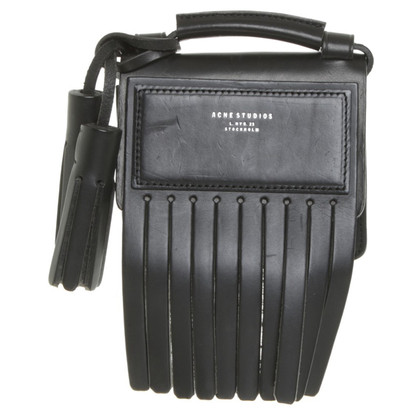 Acne Crossbody Bag in zwart