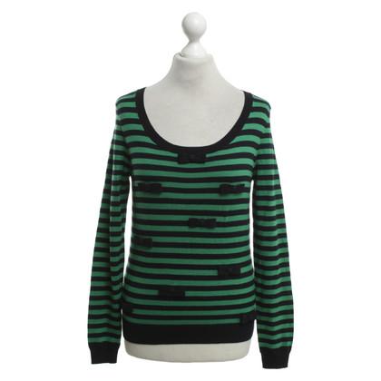 Hobbs Sweater met gestreept patroon
