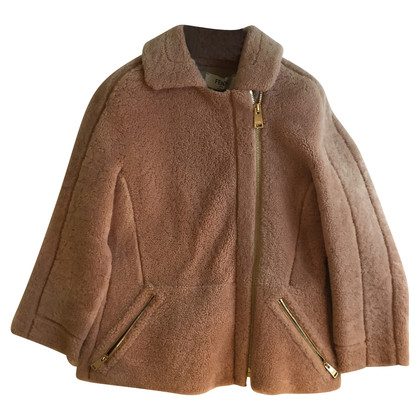 Fendi Shearling Mantel