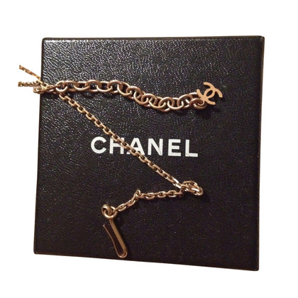 Chanel Ketting met Camellia hanger