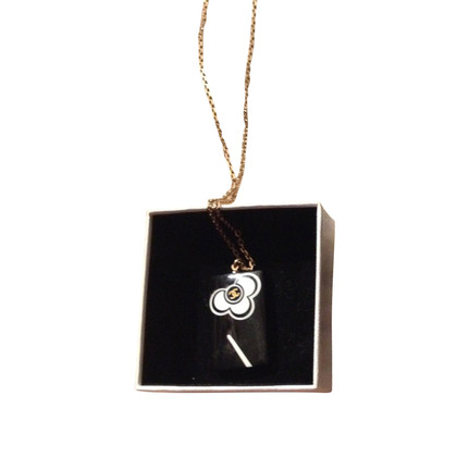 Chanel Necklace with camellia-pendant
