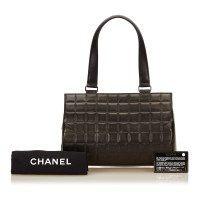 Chanel Choco Bar Lambskin Shoulder Bag