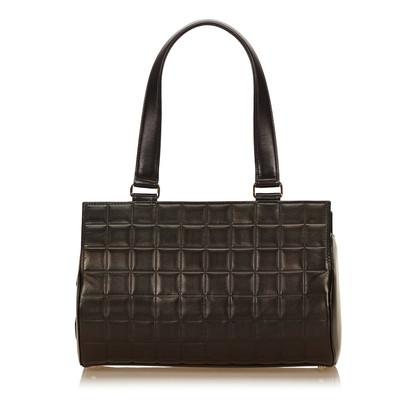 Chanel Choco Bar Lambskin Shoulder Bag