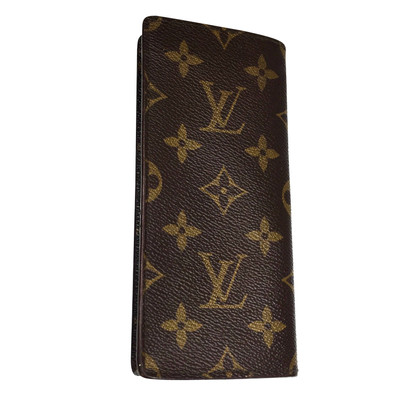 Louis Vuitton Glasses case from Monogram Canvas