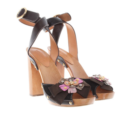 Dolce & Gabbana Sandalen gemaakt van hout