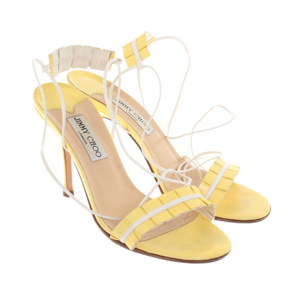 Jimmy Choo Infradito in giallo