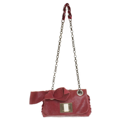 Maliparmi Shoulder bag in dark red