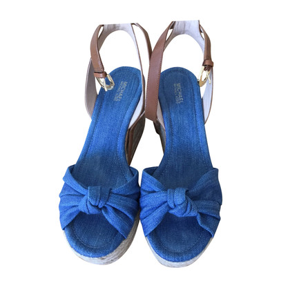 Michael Kors Wedges of denim