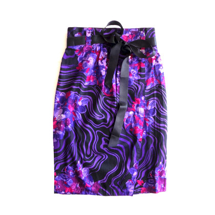 Gianni Versace skirt with floral print