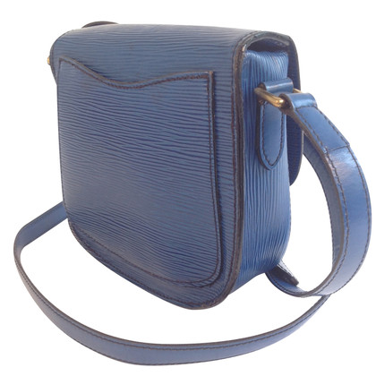 "Louis Vuitton ""Saint Cloud Epi Leather"" in blue"