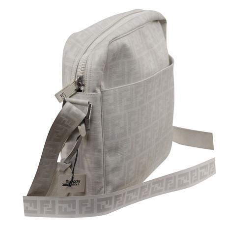 Fendi Messenger Bag Weiß Ebay Auslass Freiraum 100% Original yhTtu