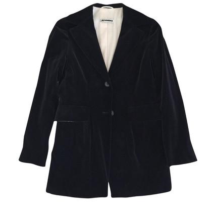 Jil Sander Fluweel jas