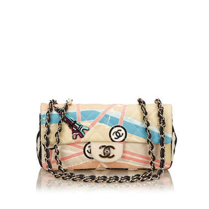 Chanel Canotta stampata Shoulder bag