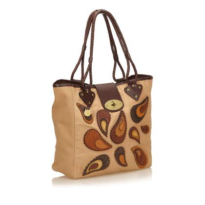 Mulberry Gestickte Canvas Tasche