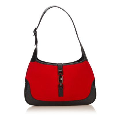 Gucci Wool Jackie Shoulder Bag