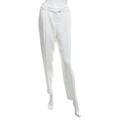 René Lezard Pantaloni in crema