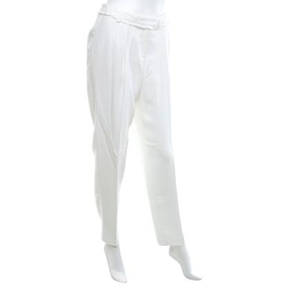 René Lezard trousers in cream