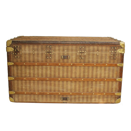 "Louis Vuitton ""Antique Malle Courrier Toile Rayée"""