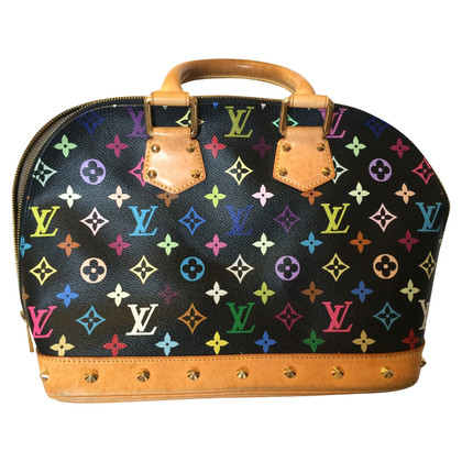 Louis Vuitton Alma black multi