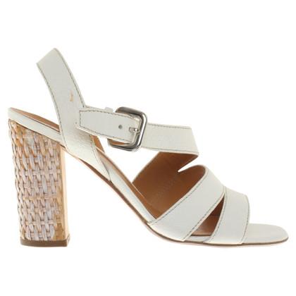Prada Sandaletten in Weiß