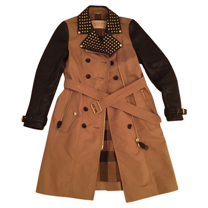 Burberry Trench coat coat with leather