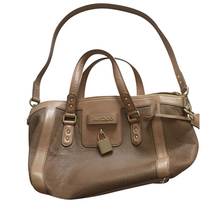 Jimmy Choo Satchel in Beige