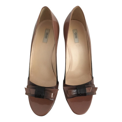 Prada Peeptoes made of patent leather