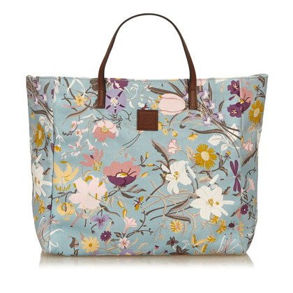 Gucci Gedruckt Canvas Tote Bag