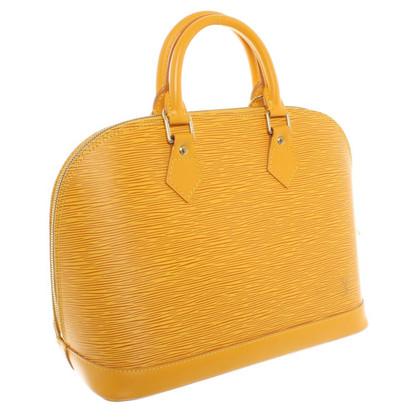 Louis Vuitton Epileder- handbag in yellow