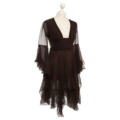 Costume National Robe marron