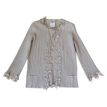 Chanel Jacke mit Seidenschleifen