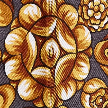 Fendi Sciarpa di seta floreale