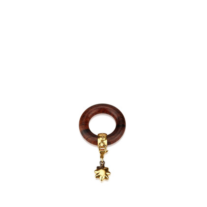 Hermès Wood Charm Scarf Ring