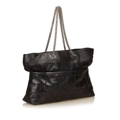 Christian Dior Leren Canage Tote Bag
