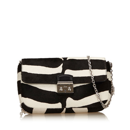 Christian Dior Miss Dior Pony Hair Shoulder Bag