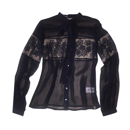 John Galliano silk blouse