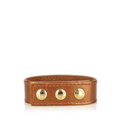 Louis Vuitton Leren VIP Snap Armband