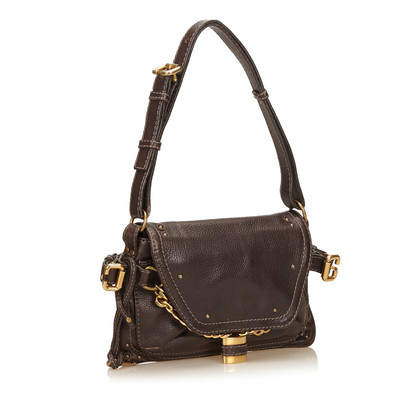 Chloé Leather Paddington Shoulder Bag
