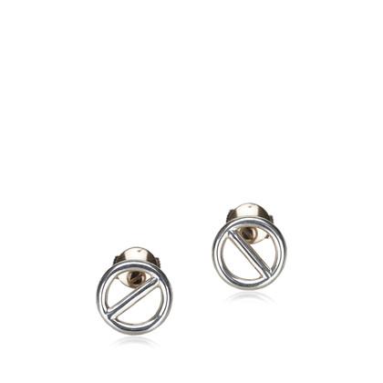 Hermès Ketting dAncre Zilveren Oorbellen